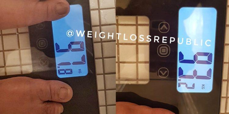 Weightloss Republic Jumpstart Results
